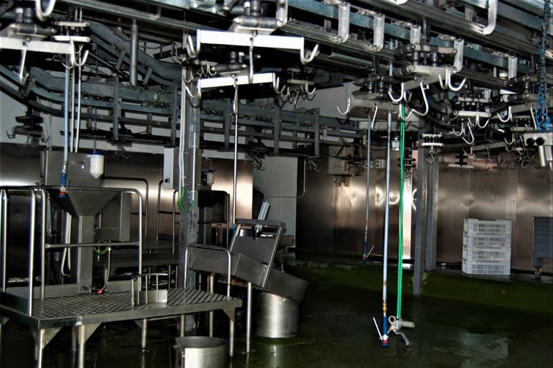 Instalaciones interiores Matadero Muñoz